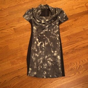 Grey & white dress by C. Luce size s.